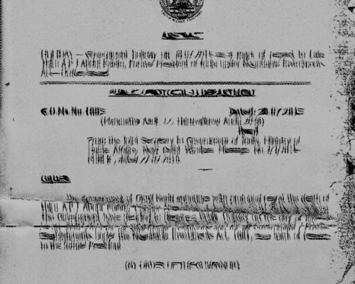 A scanned document of a government order which states that a project which involves a photographic documentation is to be undertaken by Pogul Tesparisi who is the only person to be owning a photo studio in Paristan. It also states that the photographs must be properly clicked with good exposure and low ISO.